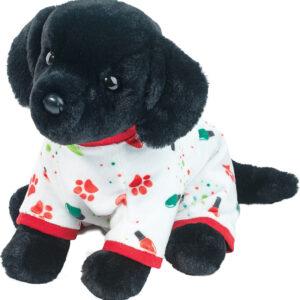 Douglas PJ Pup Black Lab Plush Stuffed Animal - Large