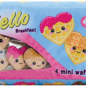 Hello Breakfast Waffles Furry and Fleece Plush