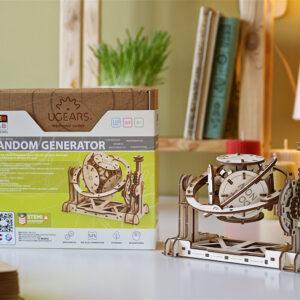 UGears STEM LAB Random Generator Model Kit